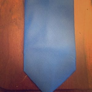 Hugo Boss Men's Silk Tie Blue